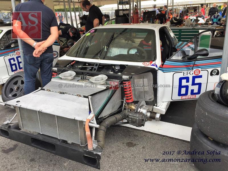 Lancia Beta Montecarlo Turbo Gr 5 Chassis  1009